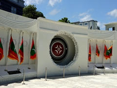 Victory Monument (3rd November Memorial); Malé
