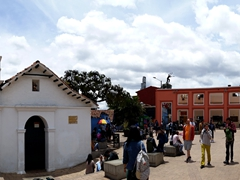 Chorro de Quevedo Plaza. It is believed that Bogota was founded here in on 6 Aug 1538