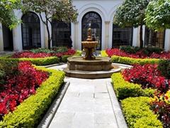 Courtyard; Botero Museum