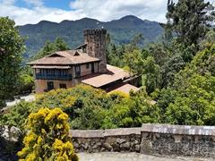 Restaurant at Monserrate Mountain