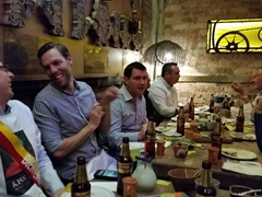Stage 2 of the Stag Do: dinner at Andrés DC