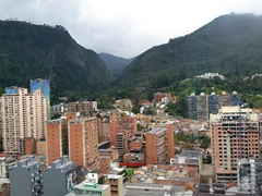 View of Bogota from the Avianca Building