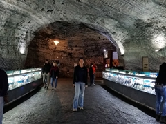 The salt mines of Zipaquirá are big enough to house a shopping arcade!