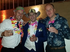 Robby, Craig and Mattie
