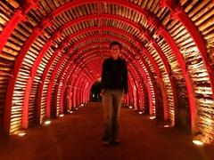 """First we had to walk through the """"star wars"""" tunnel; Zipaquirá Salt Mine"""