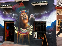 Street art; La Candelaria