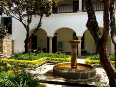 "Courtyard at the ""Casa de Moneda"", Coin and Bill Production Museum"