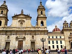Primatial Cathedral of Bogotá; Bolivar Square