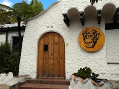 Cute house in the Chapinero district of Bogota