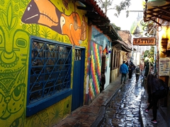 Strolling back through Callejón del Embudo; La Candelaria