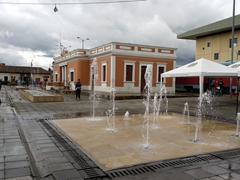 Cajica train station