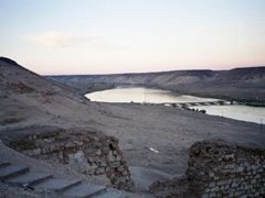 View from Halabiye Citadel