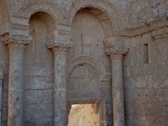 Detail of the north entrance of Resafa
