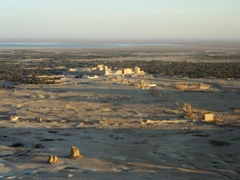 Amazing view of Palmyra as seen from the Fakhr ud-Din Castle