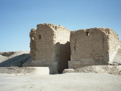 Palmyra Gate (as seen from the west outside the gate), Dura Europos, 2nd century BC