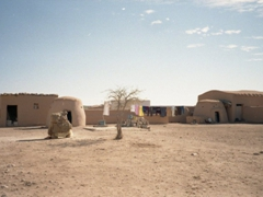 Beehive villages (built entirely out of mud brick) are ideally suited for the desert environment