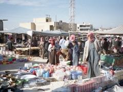 Road side Syrian market