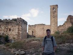 Robby at the Citadel of Salah Ed-Din
