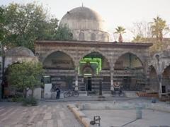 The Tekkiye Mosque Madrasa, built by Turkish architect Sinan in 1560 for Selim II, Damascus