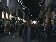 Robby inside Al Hamidiyah Souq, Damascus