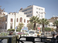 Chaotic traffic in Damascus!