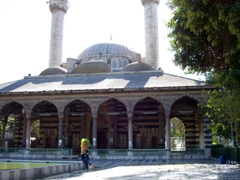 View of the 1516 Sultan Selim mosque (also known as the Tekkiye Mosque Madrasa), Damascus