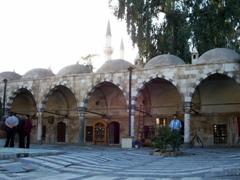 Arcades and domes of the madrassa, Takiyya al-Sulaymaniyya; Damascus