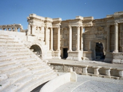 Palmyra's Roman Theater dates back to the second-century CE