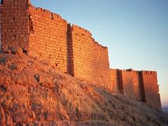 Sunset at Fakhr-al-Din al-Ma'ani Castle, Palmyra