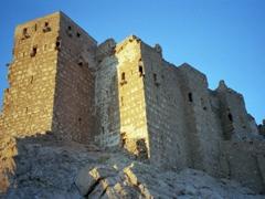 Fakhr-al-Din al-Ma'ani Castle was built by the Mamluks in the 13th century