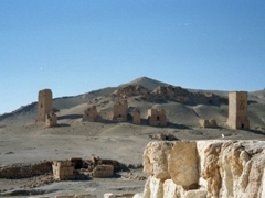 Palmyra's Valley of the Tombs