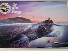 Ecuador tourism poster