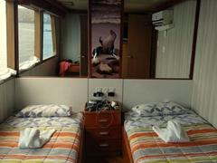 Our stateroom cabin; Humboldt Explorer