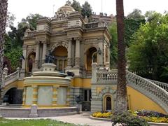 Neptune's terrace fountain; Santa Lucia Park