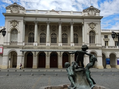 Municipal theater of Santiago