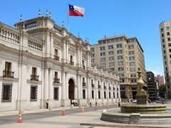 La Moneda presidential palace