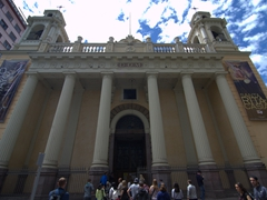 Church of St Augustine; downtown Santiago