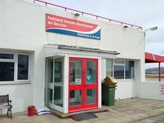 FIGAS flights from Stanley Airport - the best way to travel between the Falkland Islands