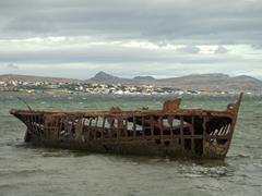 Shipwreck of tug boat Plym; Whalebone Cove
