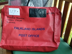 How mail gets delivered throughout the Falkland Islands