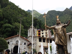 Plaza Manco Capac; Aguas Calientes