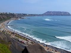 Miraflores beach; Lima