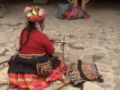 We loved the traditional attire of the indigenous women in Peru