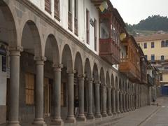Portal de panes (bread portal); Plaza de Armas in Cusco