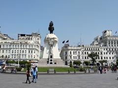 Plaza San Martin; Lima