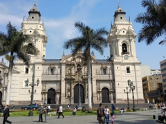 Cathedral Basilica of Lima; Plaza Mayor