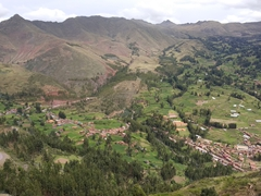 Beautiful countryside in Pisac