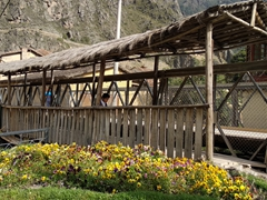 Bridge over the Patakancha River; Ollantaytambo
