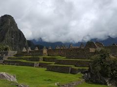 Stone houses; Machu Picchu