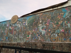 Cusco wall mural